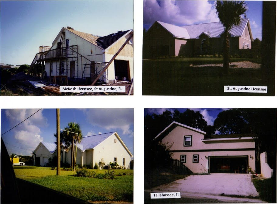 FINISHED HOUSES, McKosh, Jett, St Augustine