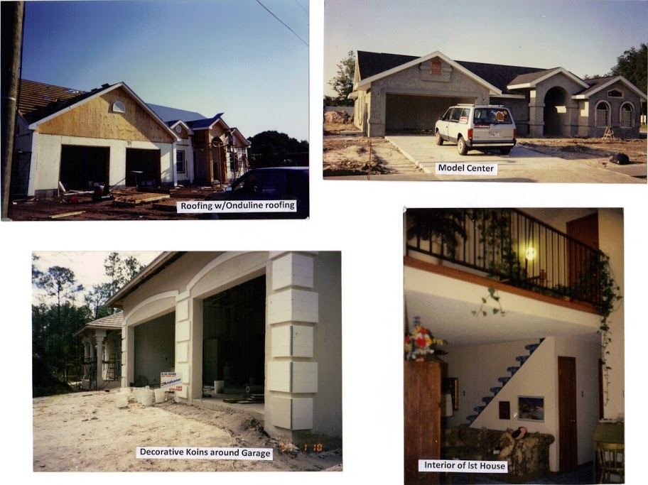 ROOF-ONDULINE, KOINS, MODEL CTR, INTERIOR OF 1ST HOUSE