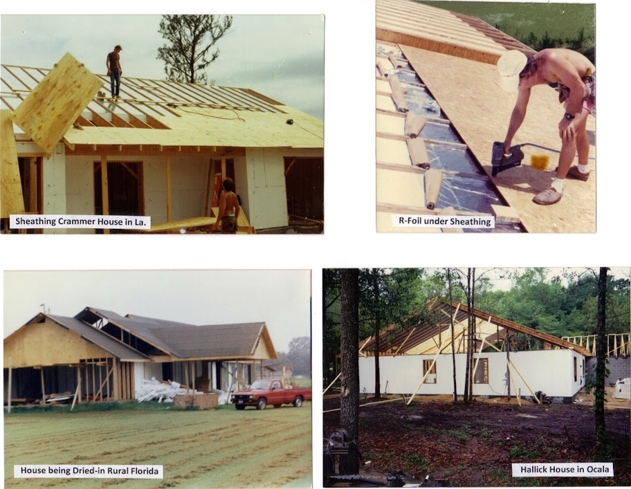 Various phases of construction thermobuilt systems inc for Thermo sheath insulative sheathing