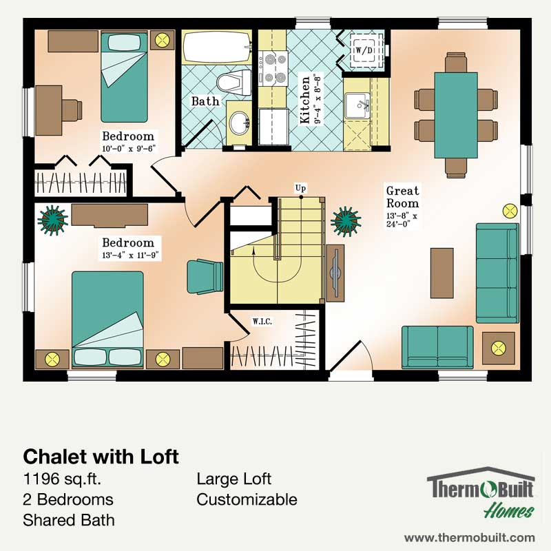 ThermoBuilt Homes - Chalet w Loft