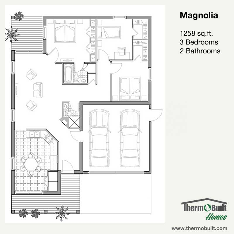 Plan Magnolia Thermobuilt Homes