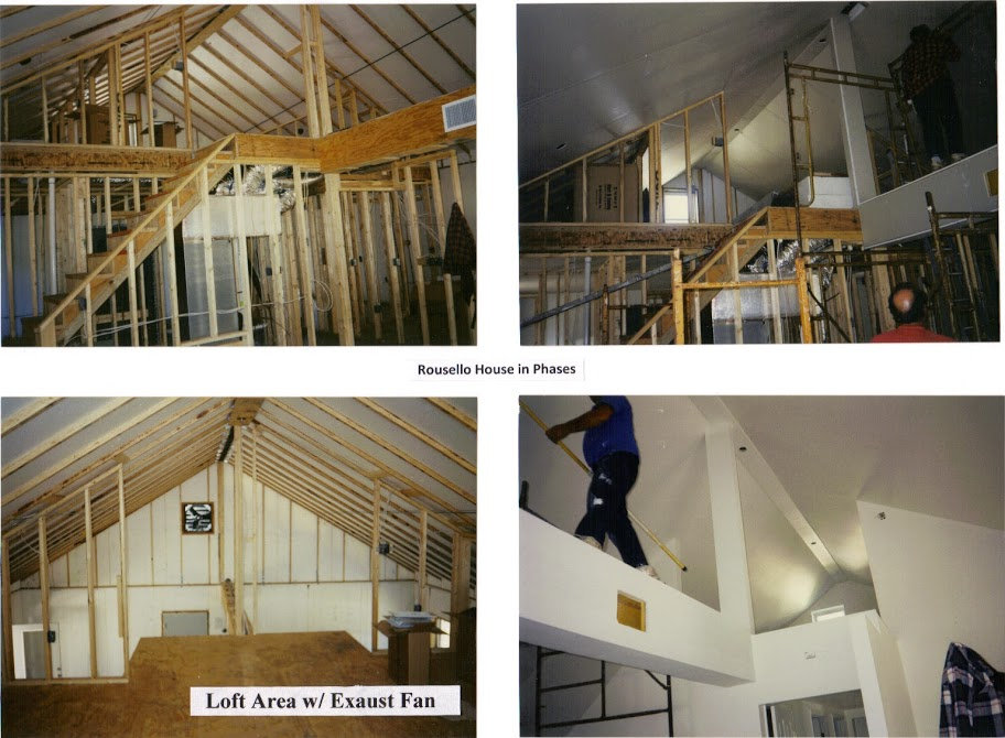 LOFT, Rousello in various stages