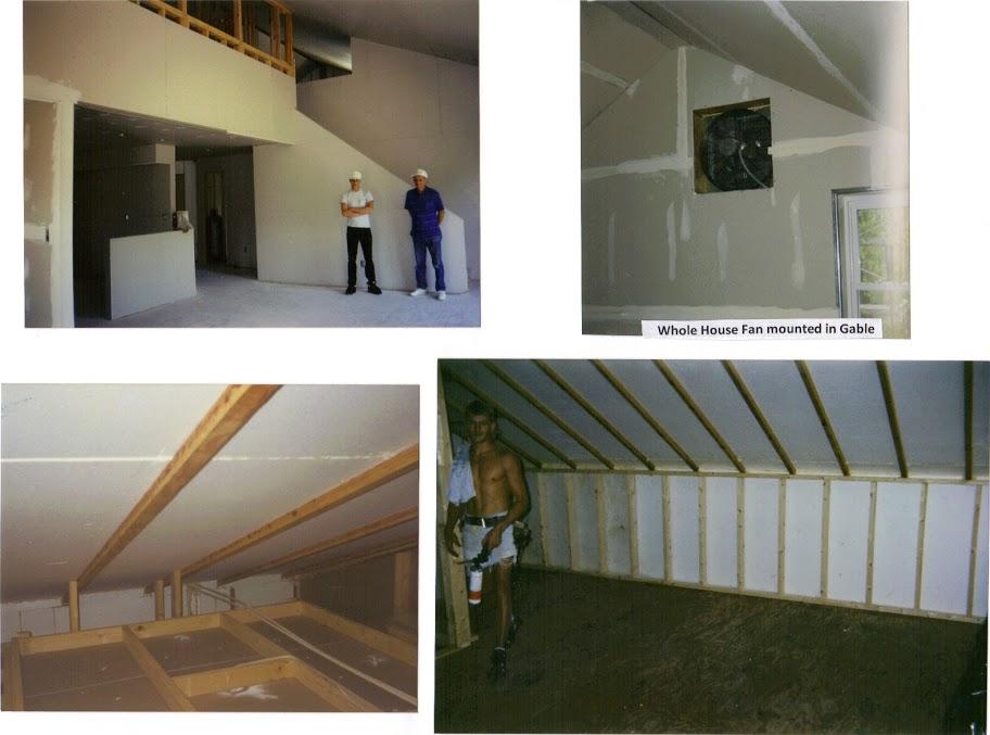 LOFT, unfinished, attic, WH Fan