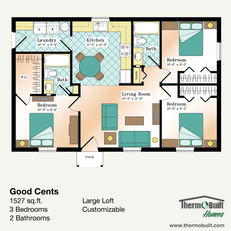 ThermoBuilt Homes - Good Cents with Loft