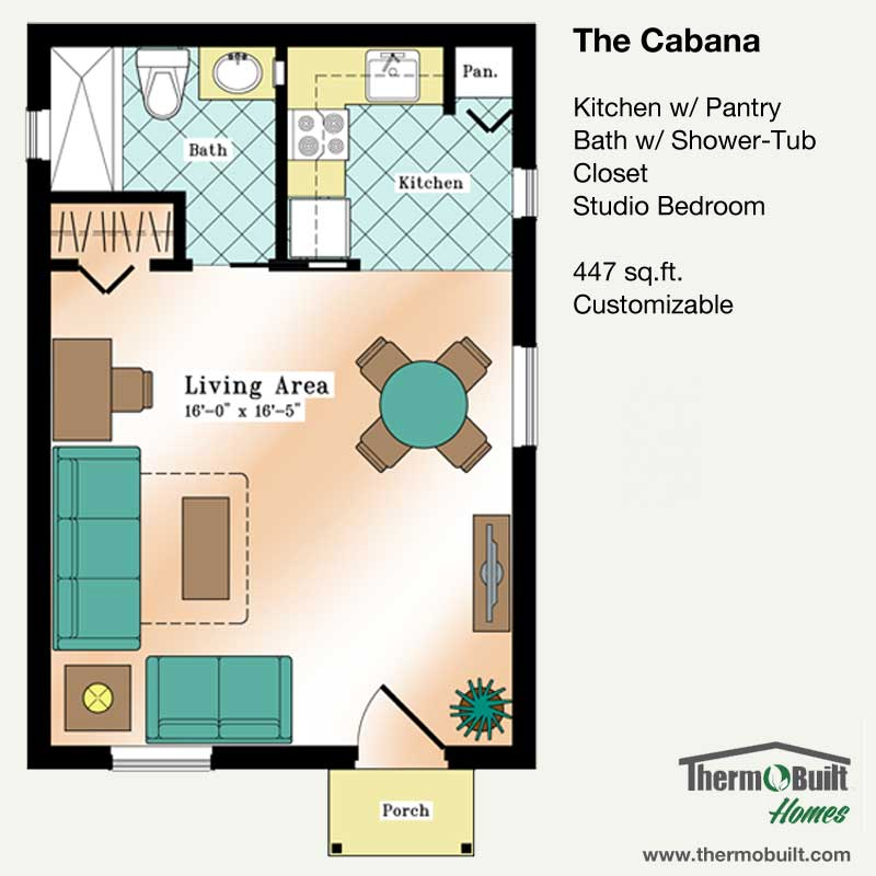 ThermoBuilt Homes - The Cabana Plan