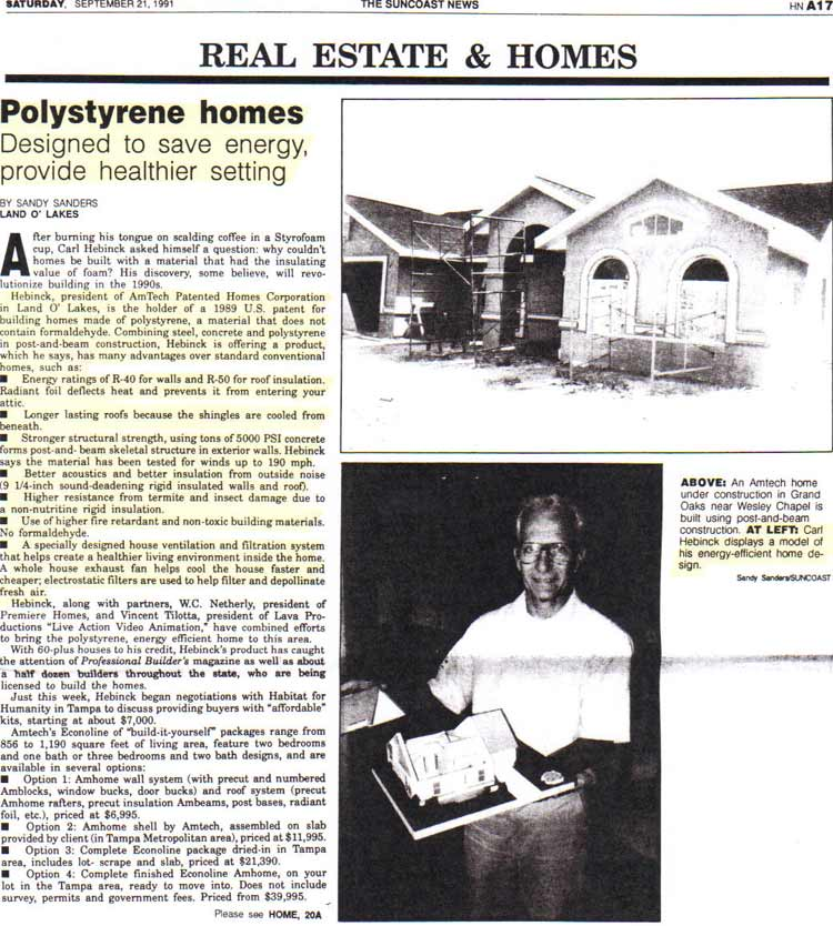 ThermoBuilt-The-Suncoast-Times-Article-September-1991