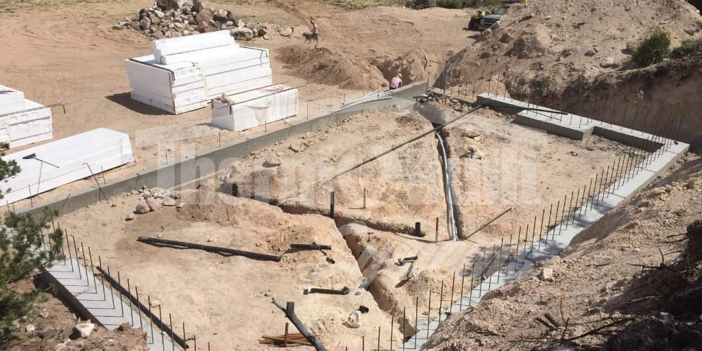 Site Prep Prior to Basement Panel Installation